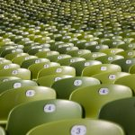 stadium seats representing data